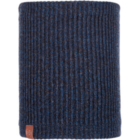 Buff Lifestyle Knitted and Polar Fleece Margo Nekwarmer, lyne night blue